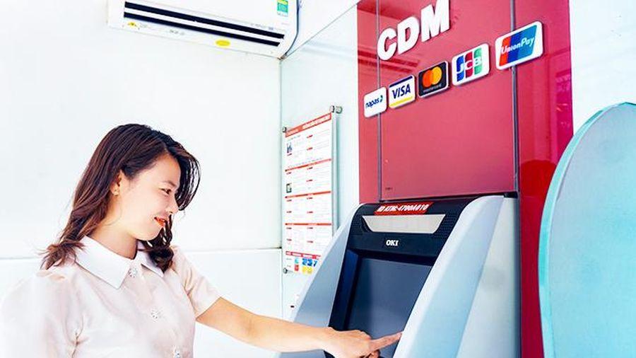 Máy CDM của Agribank Khánh Hòa: Nhiều tiện ích vượt trội