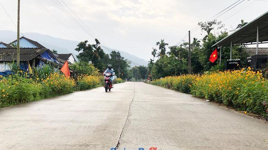 Sắc xuân trên các xã nông thôn mới