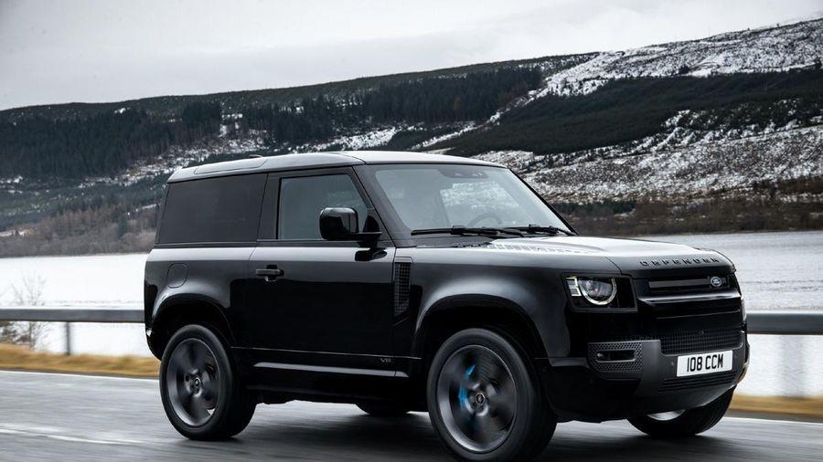 Land Rover Defender V8 mới: Mạnh mẽ trên mọi địa hình
