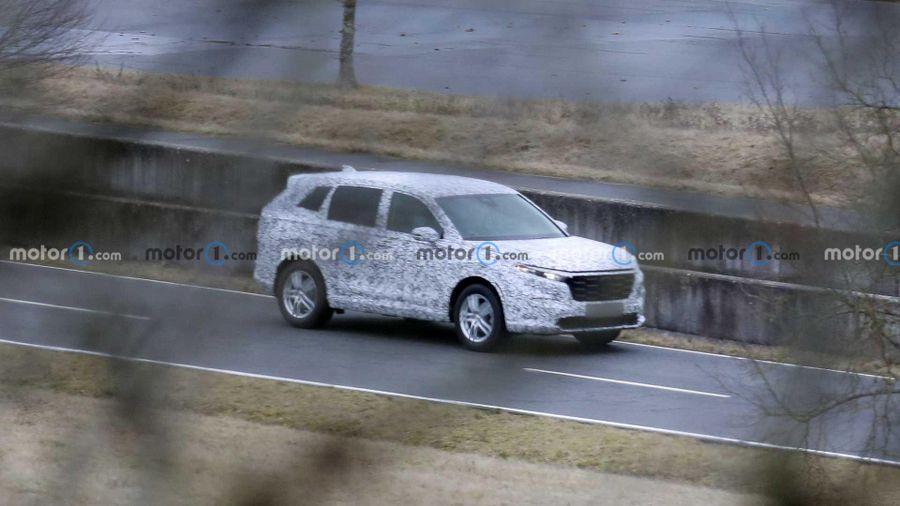 Honda CR-V 2023 lần đầu tiên bị bắt gặp