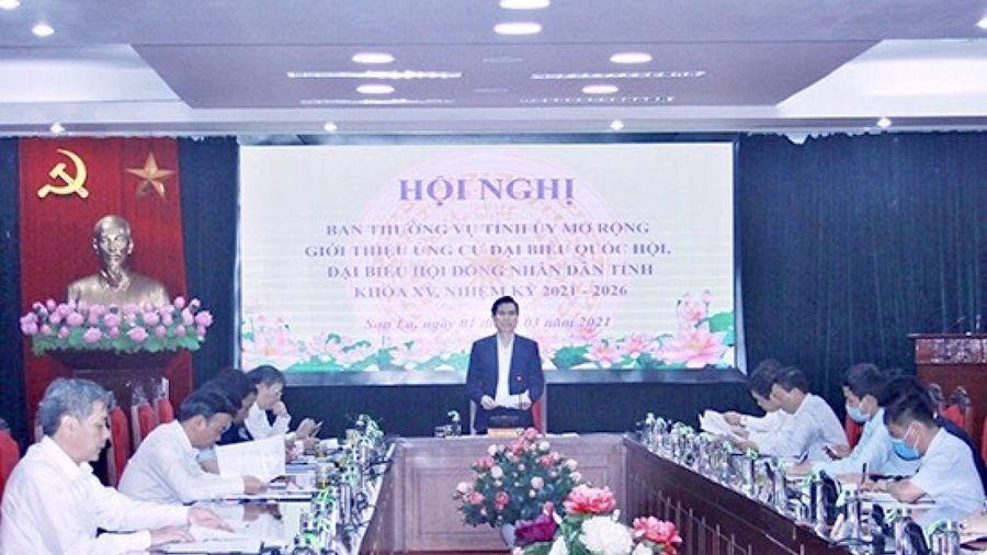 Bí thư Tỉnh ủy Sơn La được giới thiệu ứng cử đại biểu Quốc hội khóa XV