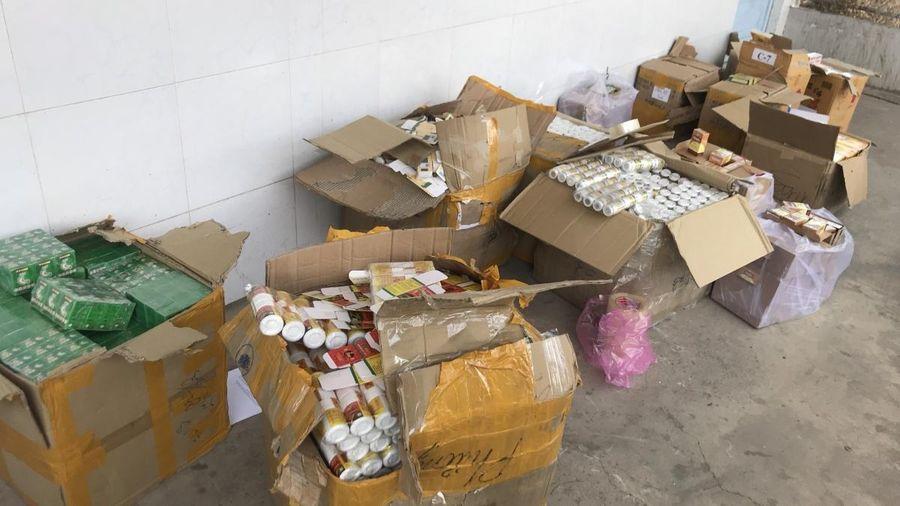 An Giang thu giữ số lượng lớn thuốc tân dược không rõ nguồn gốc
