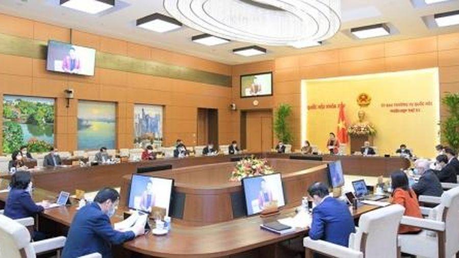 Thường vụ Quốc hội chuẩn bị cho ý kiến về công tác nhân sự trình Quốc hội
