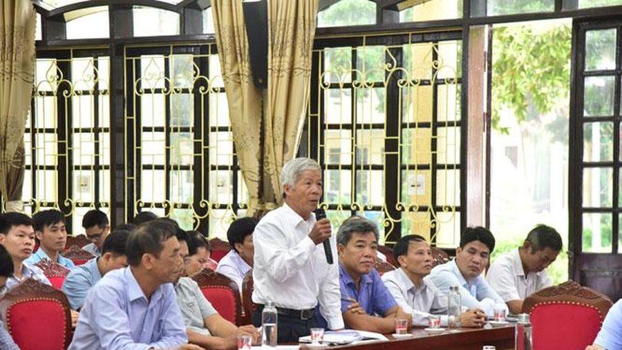 Lịch tiếp xúc cử tri của đại biểu Quốc hội trước kỳ họp thứ mười một, Quốc hội khóa XIV