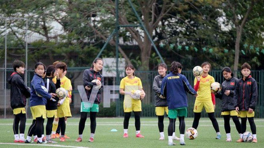 Hai đội bóng đá dự tuyển nữ trẻ quốc gia hội quân trở lại