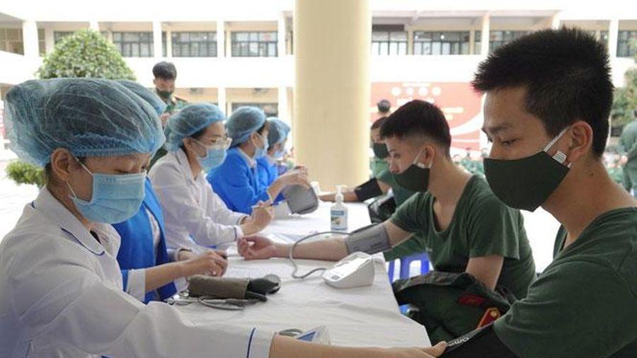 Phát động toàn quân hiến máu tình nguyện