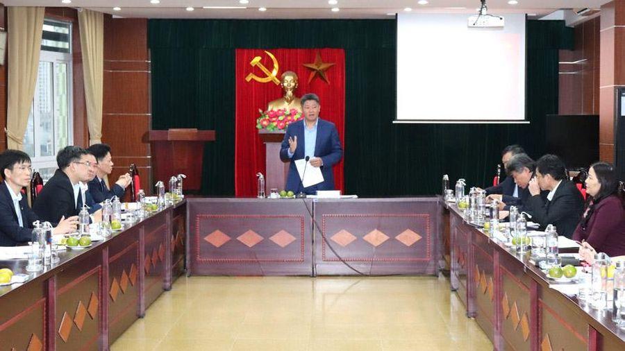 Tháo gỡ khó khăn, hỗ trợ doanh nghiệp tại khu công nghiệp Hà Nội