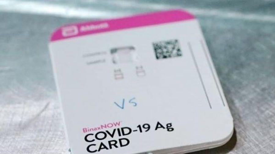 Mỹ: Nhu cầu xét nghiệm COVID-19 giảm mạnh làm gia tăng tỷ lệ phơi nhiễm