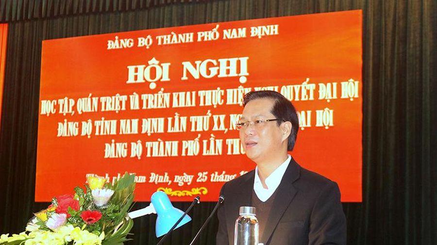 Nam Định: Đẩy mạnh tuyên truyền, đưa nghị quyết đại hội các cấp vào cuộc sống