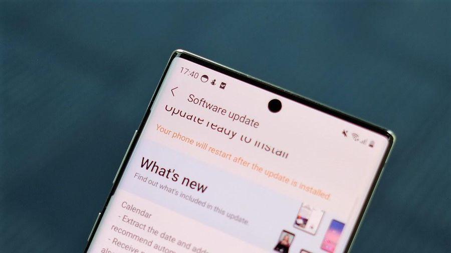 Nhiều mẫu smartphone Samsung tại Việt Nam được lên One UI mới