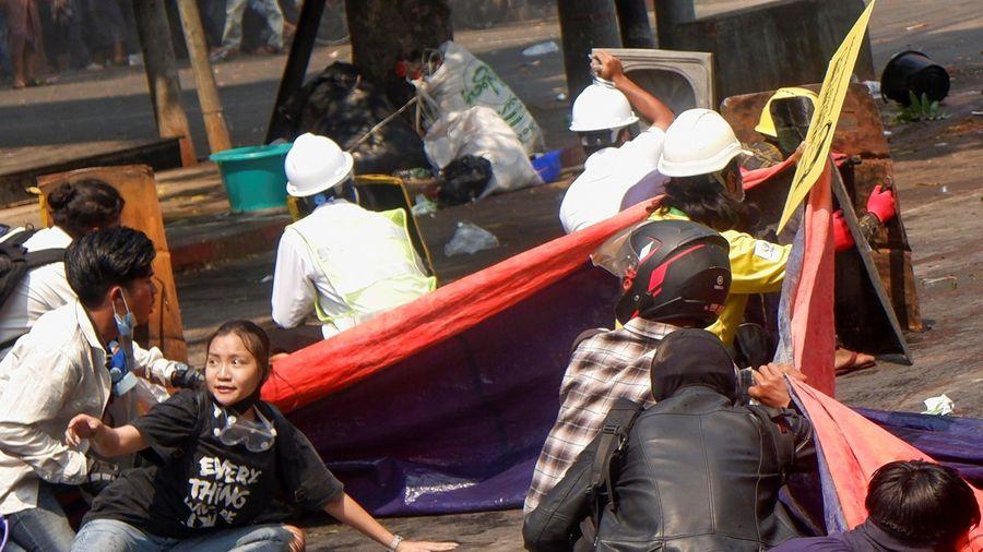 18 người thiệt mạng ở Myanmar trong ngày biểu tình 3/3