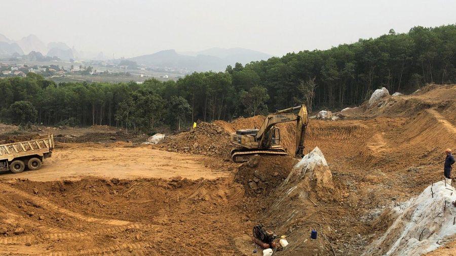Bộ trưởng đốc tiến độ 2 dự án thành phần cao tốc Bắc-Nam