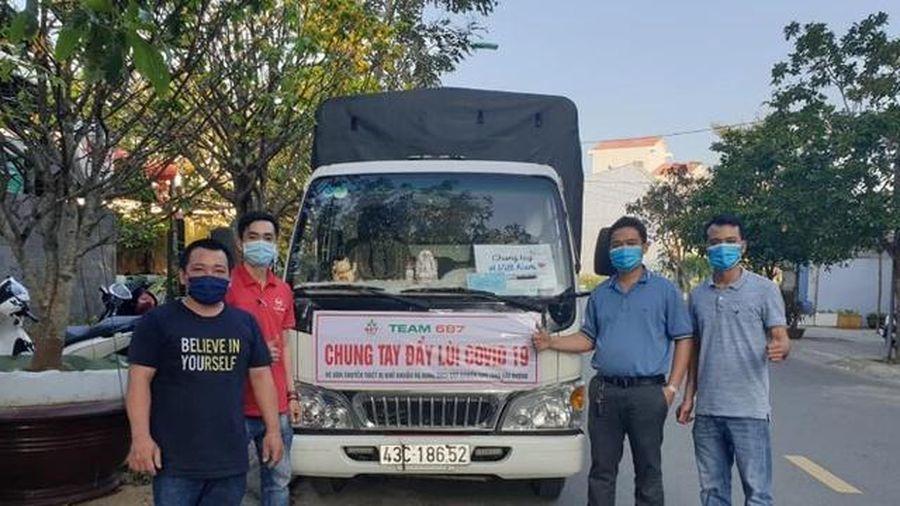 Đà Nẵng: Người từng nhiễm Covid-19 chung tay hỗ trợ vùng dịch