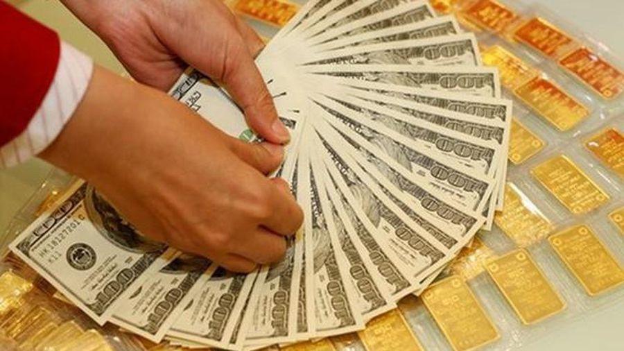 Giá vàng trong nước tăng trở lại, USD tăng mạnh