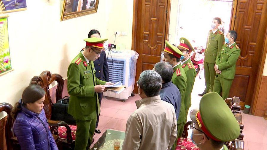 Bắt tạm giam nguyên Chủ tịch thị trấn ở Thanh Hóa