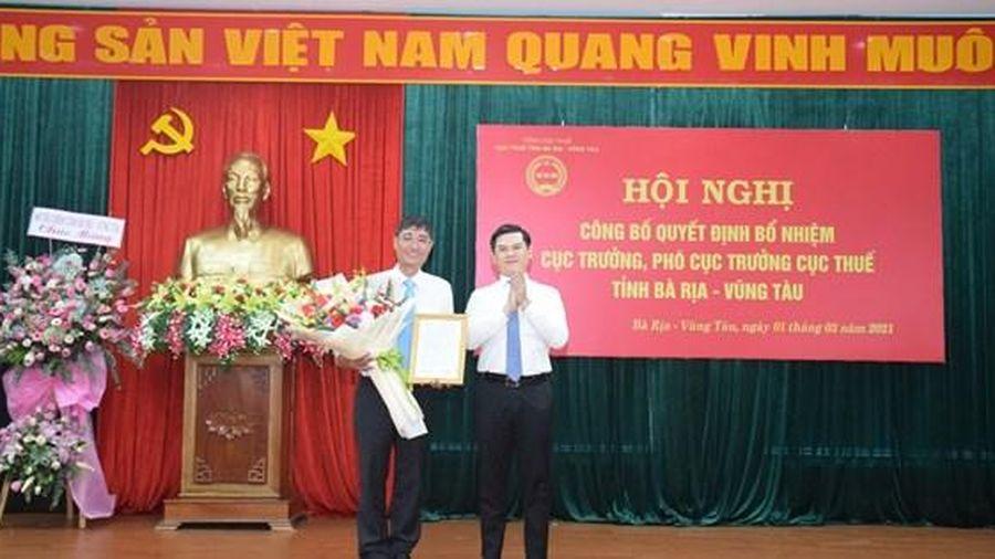 Tổng cục Thuế trao quyết định bổ nhiệm Cục trưởng Cục Thuế Bà Rịa - Vũng Tàu