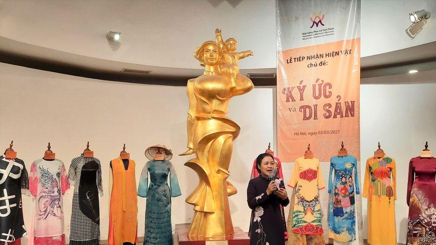 Bảo tàng Phụ nữ tiếp nhận nhiều hiện vật quý do cá nhân trao tặng