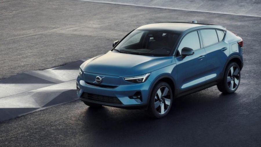 Cận cảnh Volvo C40 Recharge chạy điện thuần túy vừa ra mắt