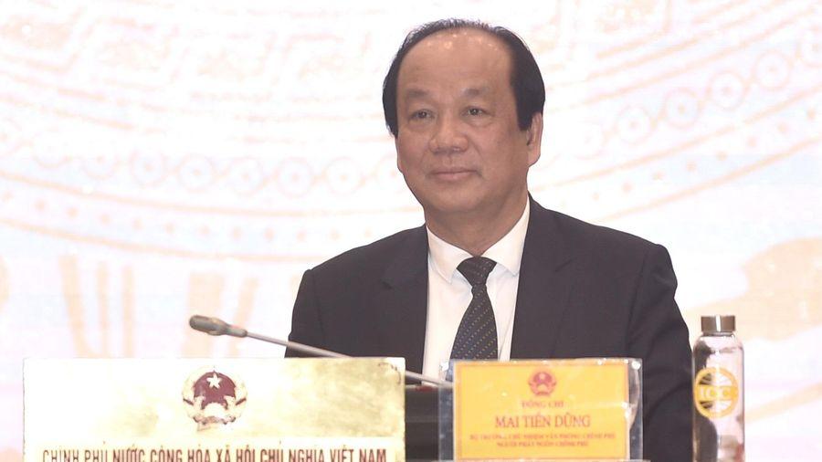 Sẽ kiện toàn bộ máy lãnh đạo Chính phủ tại kỳ họp Quốc hội cuối tháng 3