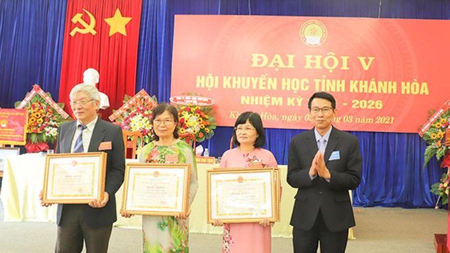 Đại hội Hội Khuyến học tỉnh Khánh Hòa lần thứ V