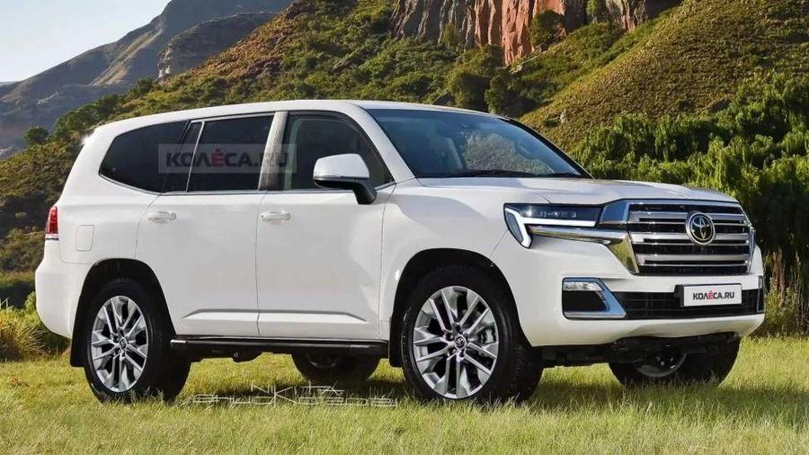 Xem trước Toyota Land Cruiser thế hệ tiếp theo