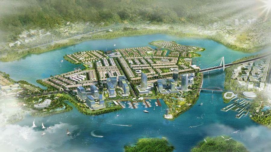 Khu Khu đô thị sinh thái Thanh Phong chưa xong giấy phép vẫn thi công rầm rộ