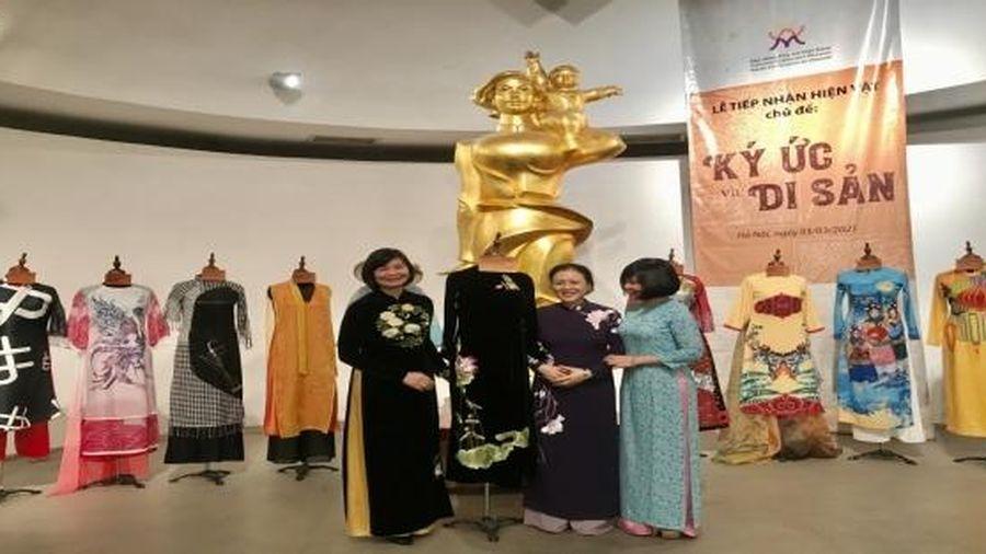 Chủ tịch VUFO Nguyễn Phương Nga: Áo dài Việt Nam xứng đáng là di sản văn hóa phi vật thể của nhân loại