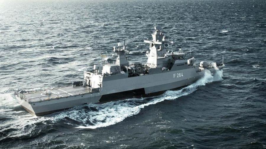 Nối gót Anh-Pháp, Đức điều tàu chiến đi qua Biển Đông