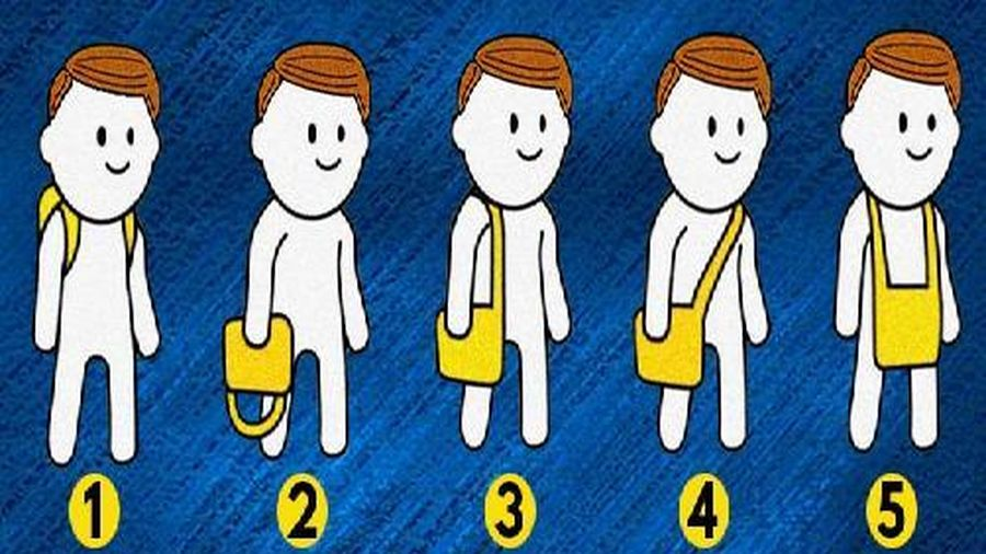 Trắc nghiệm vui đoán tính cách: Bạn thích mang túi theo kiểu nào?