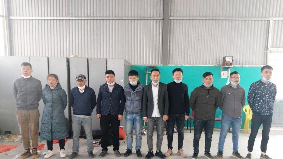 Bắt 2 người tổ chức cho người Trung Quốc nhập cảnh trái phép