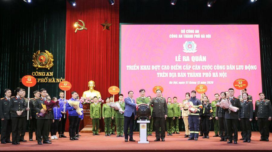 Công an Hà Nội vào 'chiến dịch' cấp 6 triệu thẻ Căn cước công dân gắn chíp điện tử
