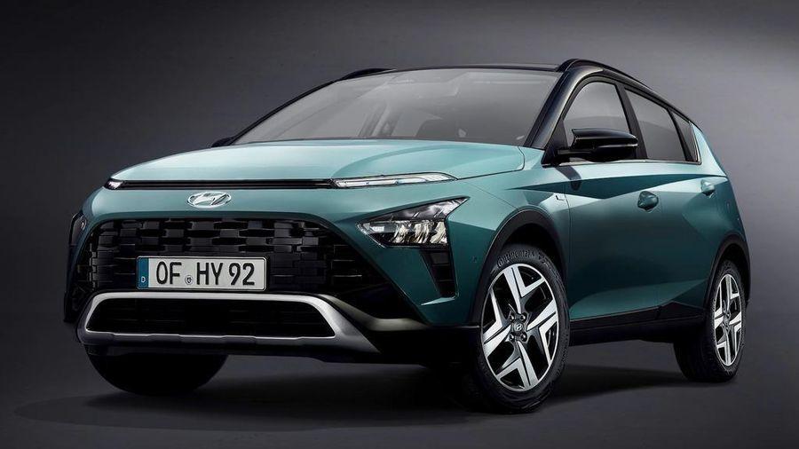 Mẫu xe hoàn toàn mới Hyundai Bayon 'hiện nguyên hình'