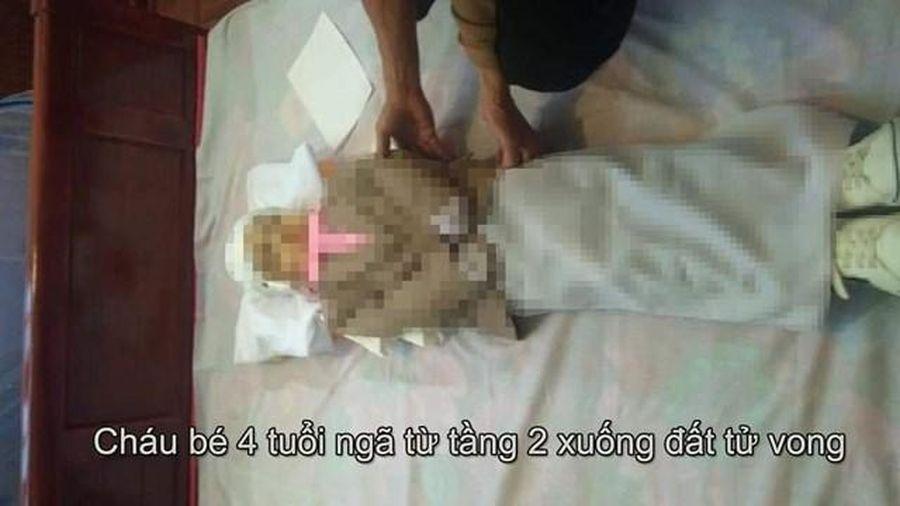 Nam Định: Cháu bé bị rơi từ tầng 2 không qua khỏi