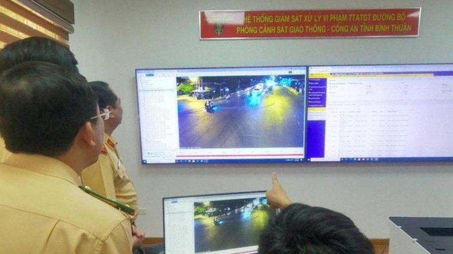 Bình Thuận: 4.000 xe vi phạm bị camera 'bắt quả tang'
