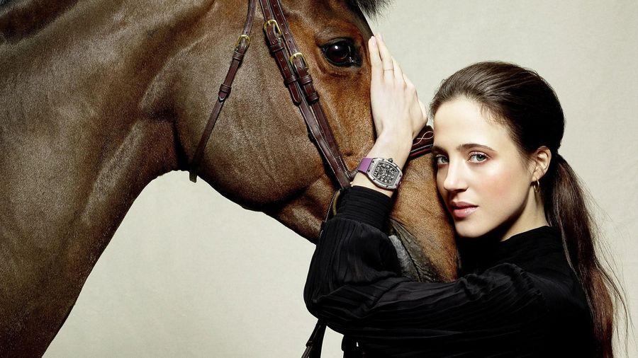Ngôi sao đua ngựa Flore Giraud gia nhập Richard Mille