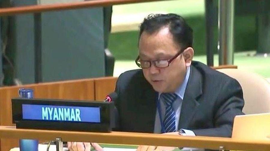 Đại sứ do quân đội Myanmar bổ nhiệm ở Liên Hợp Quốc từ chức