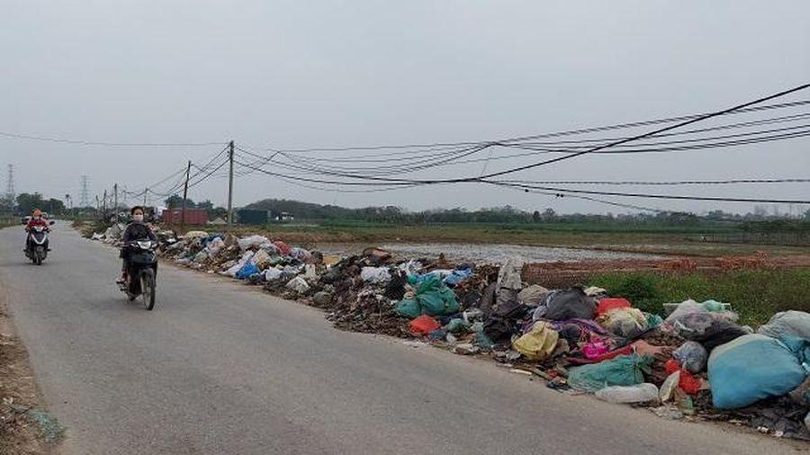 Tỉnh lộ nguy cơ biến thành bãi rác