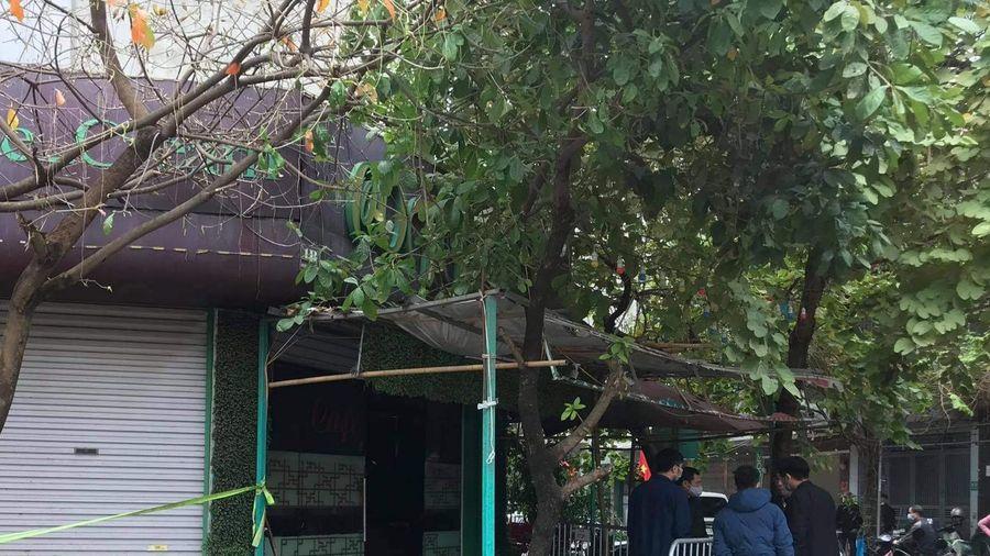 Hà Đông: Cháy quán cà phê lúc rạng sáng, 1 phụ nữ tử vong