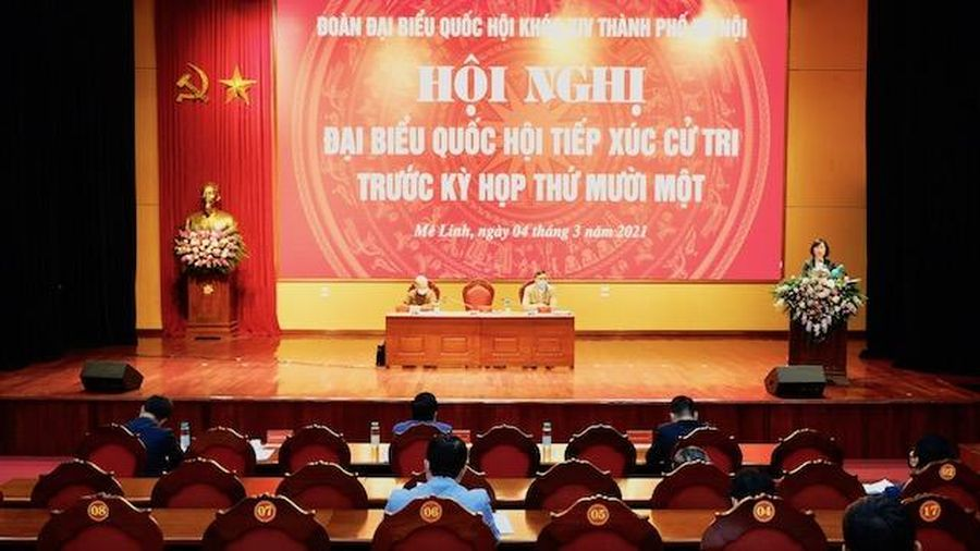 Cử tri kiến nghị Thành phố sớm đầu tư xây dựng các công trình kết nối giao thông tại Sóc Sơn và Mê Linh