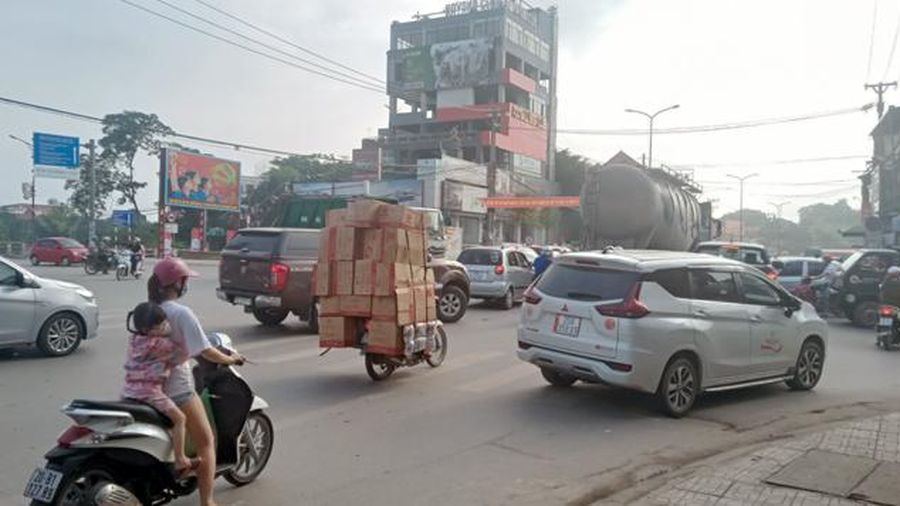 Cần giải pháp đồng bộ khắc phục ùn tắc giao thông ở TP Thái Nguyên