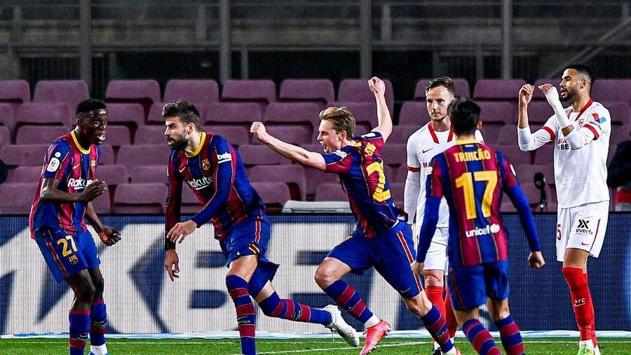 Barcelona tiến tới Chung kết Cúp Nhà vua Tây Ban Nha