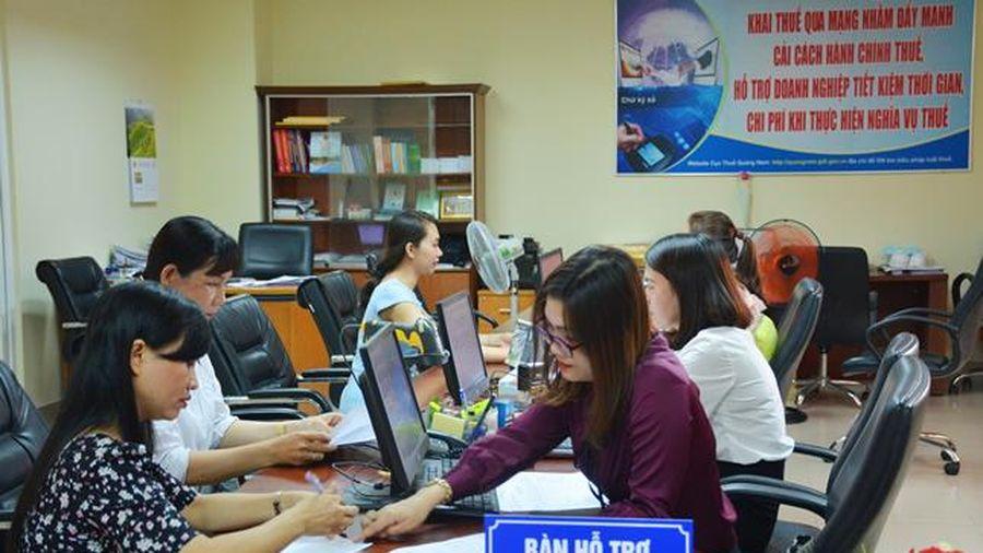 Hai tháng đầu năm, ngành thuế Quảng Nam thu ngân sách đạt hơn 4.600 tỷ đồng