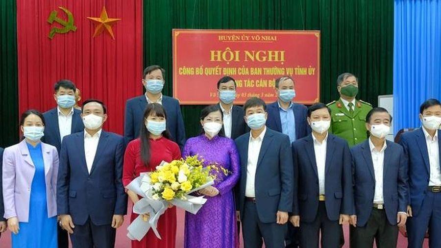 Thái Nguyên: Phân công và chỉ định các cán bộ chủ chốt