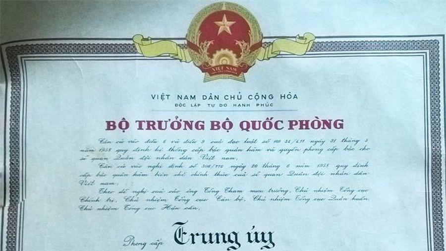 Ký ức một thời hào hùng của người cựu binh 99 tuổi