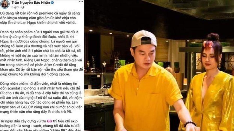 Đạo diễn 'Gái già lắm chiêu' bức xúc khi bị nghi dựng chuyện 'clip nóng' của Lan Ngọc PR phim