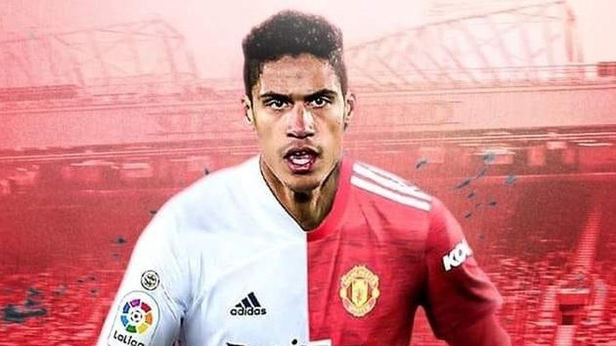 Real Madrid quyết định bán Varane cho Quỷ đỏ