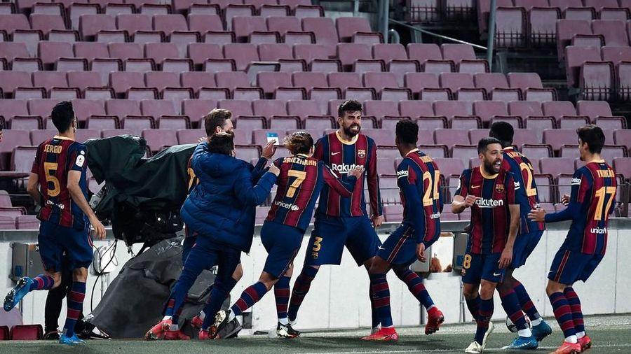 Barcelona lách cửa hẹp, vào chung kết Cúp Nhà Vua