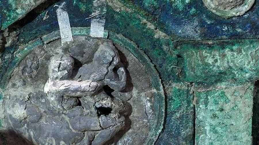 Phát hiện bất ngờ về cỗ xe làm lễ cổ đại gần thành bang La Mã cổ đại