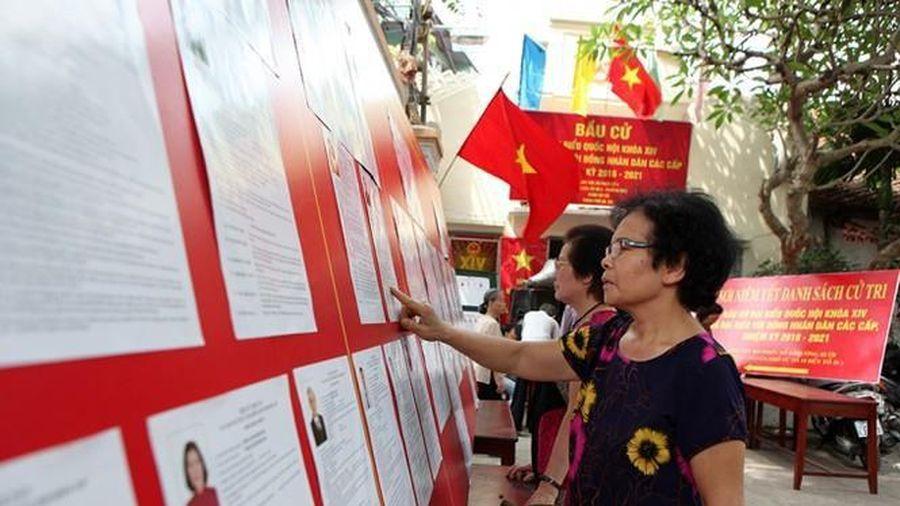 Thành phố Hà Nội và TPHCM có số đơn vị bầu cử nhiều nhất cả nước
