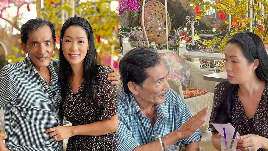 Hình ảnh mới nhất của Thương Tín sau đột quỵ và thông tin về sử dụng số tiền hỗ trợ